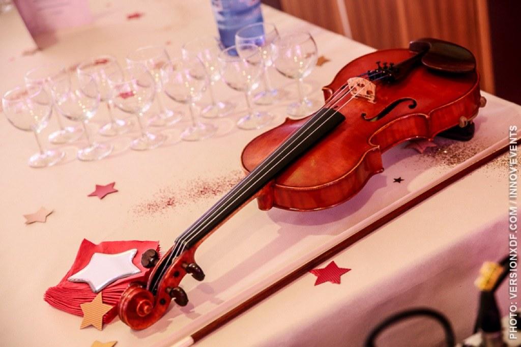 Animation violon électrique en Alsace