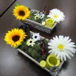 anniversaire-decoration-table-fleurs