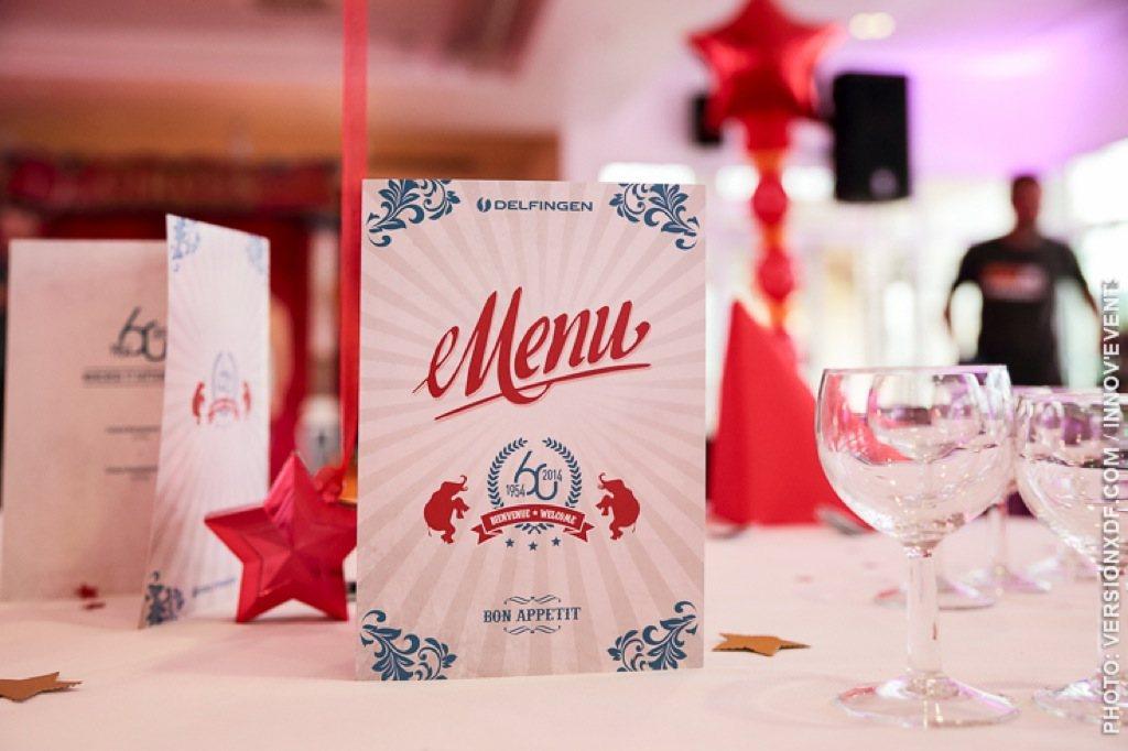 Menu festif pour votre table