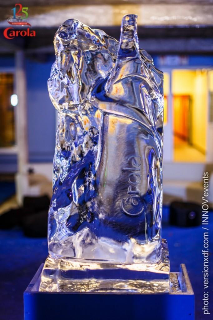 Animation sculpture sur glace