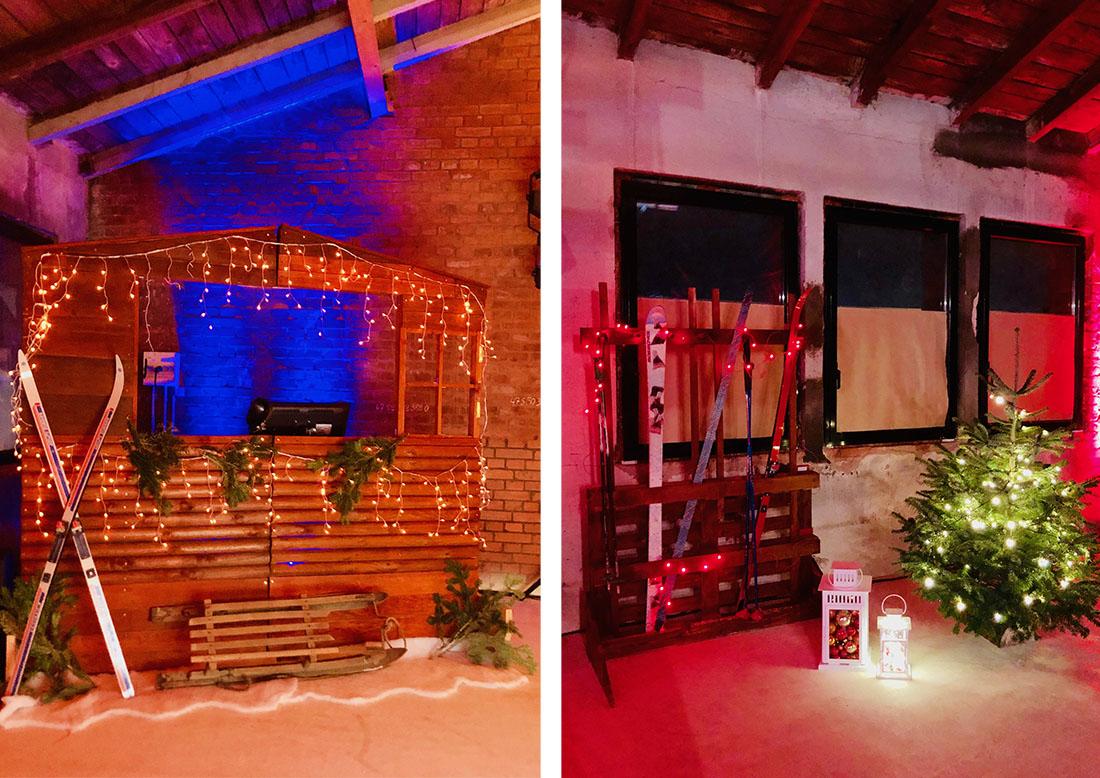 Location package décoration après-ski pour vos soirée montagnarde