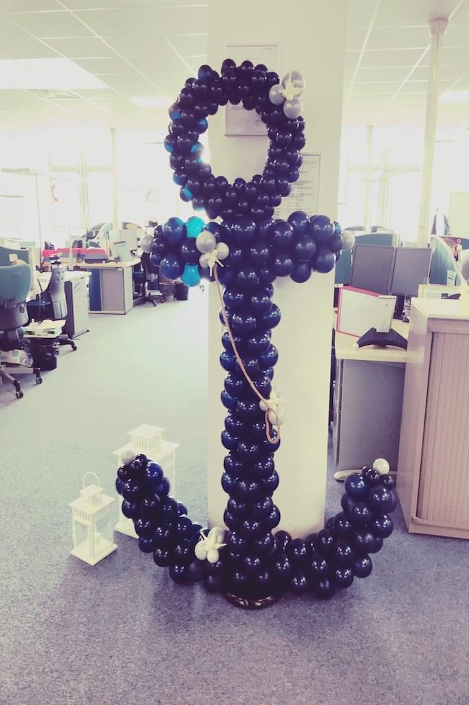 Création décor en ballons